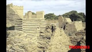 babilonia, las ruinas de babilonia antigua  antigua ciudad de baja mesopotamia, imagenes
