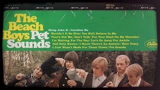 Pet Sounds: An Annotated look at the Classic Beach Boys Album | Liner Notes