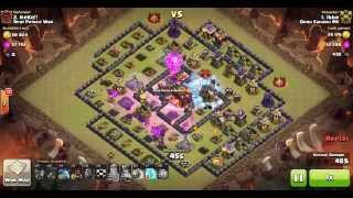 TH10 LAVALOONION WAR ATTACK | 3 STAR by IBBE on Clash of Clans.