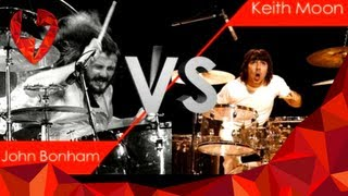 John Bonham vs Keith Moon
