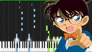 Case Closed - Detective Conan [Piano Tutorial] (Synthesia)