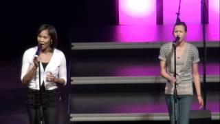 Holding On(Jamie Grace) Crossroads Christian Church 2-29-12