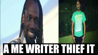 Mavado Thief Rhymatic Paper Soldier Song (proof )