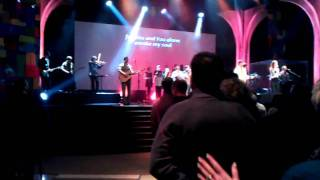 in the worship service at new life church