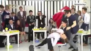 k-pop EXO face when AILEE & IVY Sexy Dance @ Immortal Song 130921 Funny Moment  Fail | K-PopTurkey.c