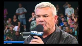 Eric Bischoff Orders Jeff Hardy To Leave