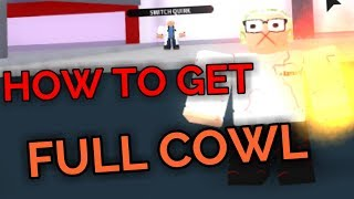 HOW TO GET FULL COWL! | Plus Ultra | ROBLOX