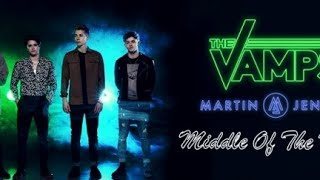 The Vamps 'Middle Of The Night' ft Martin Jensen Lyric Video