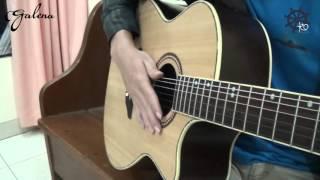 Akustik Gitar - Teknik Slap width=
