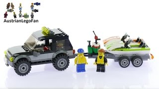 Lego City 60058 SUV with Watercraft - Lego Speed Build Review