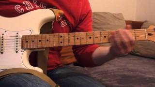 """Pink Floyd (Cover) - """"On the turning away"""" Solo"""