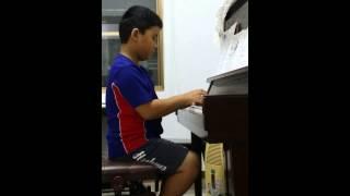 Benjamin鋼琴演奏~王老先生有塊地