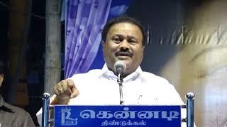 Tamilnadu minister speech width=