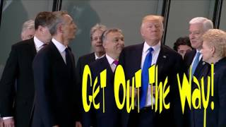 Trump, Get Out The Way ! w/Text