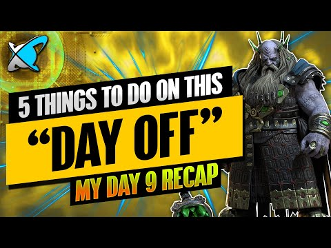 """5 THINGS TO DO ON THIS """"DAY OFF"""" 