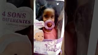 Adriely a boneca falante