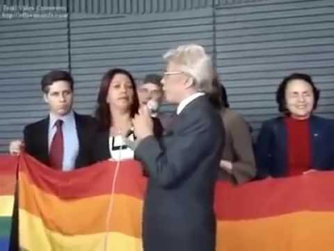 CLODOVIL HERNANDES - um gay de direita contra a parada gay