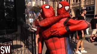 Spider-Man VS Spider-Man - Clone Drama! With Black Cat (parody)