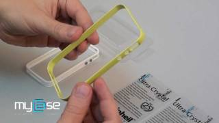 Carcasa iPhone 4S Neo Hybrid 2S seria Snow de la Spigen SGP - Lime