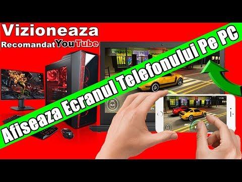 Afiseaza Ecranul Telefonului Android Pe PC Si Laptop
