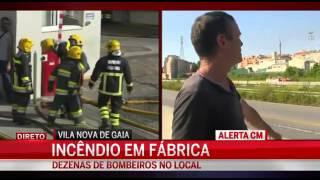 Homem insulta bombeiros - Gaia - Junho de 2015