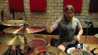 """As I Lay Dying """"The Powerless Rise"""" Studio Clip #2"""