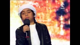 المتأهل الأول في الحلقة الخامسة من منشد الشارقة الصغير جاسم عبدالله علي