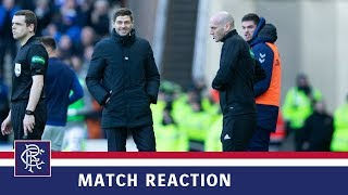 REACTION | Steven Gerrard | Rangers 1-0 Celtic