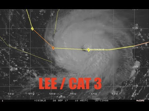 Update: Tropics / CAT 3 LEE / Puerto Rico Crisis - Maria Aftermath