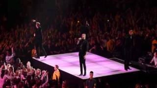 Boyzone - Baby Can I Hold You (live)  - Nottingham Arena 3/3/11