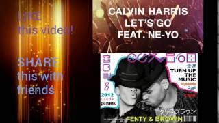 Calvin Harris, Ne-Yo & Chris brown, Rihanna - Let's go / Turn up the music (Mashup)