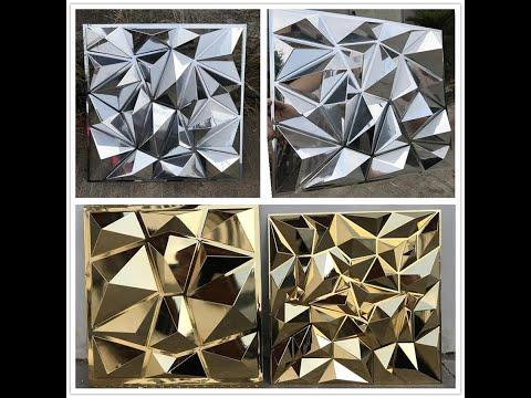 3D  #ACP  #PVC #Panel Wall Decor India +91 81225 40589