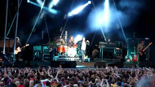 Kasabian Live at The Eden Project Sessions July 2009 Pt3
