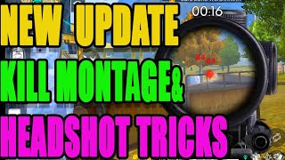 New Headshot Tricks and tips   New update kill montage   Run gaming