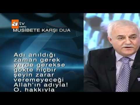 Nihat Hatipoglu- Musibete karsi Dua