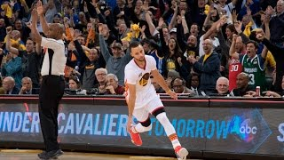 Steph Curry Talks His Crazy Half-Court Buzzer Beater Against Clippers. HoopJab NBA