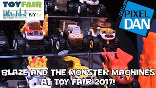 Blaze and the Monster Machines Animal Island Stunt Speedway New Toys at Toy Fair 2017