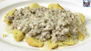 Biscuits and Gravy (Low Carb Recipe)