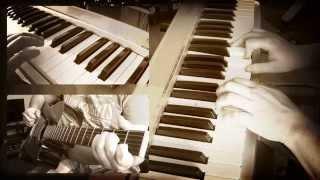 Johnny Cash - Hurt (piano & guitar cover) HD