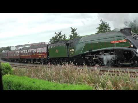 The Scarborough Flyer- 60009 Union of South Africa,  Moving Slowly – 14th September 2012