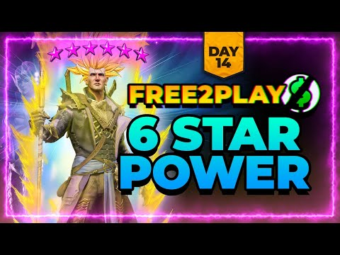 f2p Day 14 | SIX STARS! NEW Void Champ?! | RAID Shadow Legends