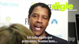 Denzel Washington destroi jornalistas! (Legendado em Português)