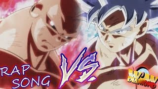 "Ultimate battle! ""Goku vs Jiren""  Pelea Completa sub español - RAP SONG// Diamond WoW"