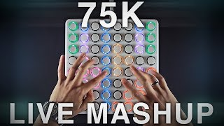 Teqqnix - 75K (Live Mashup) | Midi Fighter 64