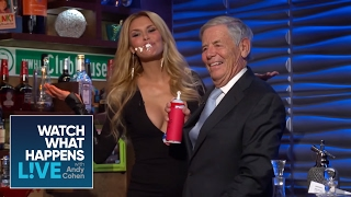 Sizzling Moment #5: Andy's Dad Feeds Brandi Glanville | WWHL