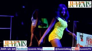GIRL DANCES HALF NAKED AT IYANYA'S KUKERE CONCERT