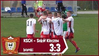 KS Chwaszczyno - Sokół Kleczew 3:3 (bramki) 6.05.2017