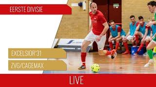 Screenshot van video LIVE: Excelsior'31 Zaal 1 - ZVG/Cagemax