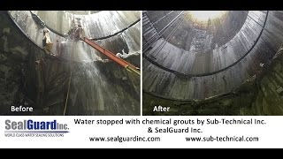 CSO Chemical Grouting by SubTechnical Inc   www.sub-technical.com