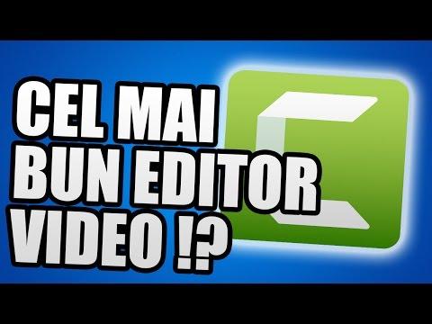 CEL MAI BUN PROGRAM DE EDITARE VIDEO